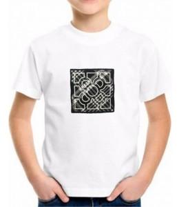 T-Shirt Azulejo Criança