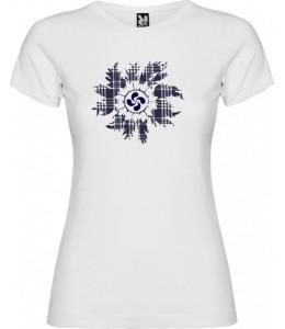 Camiseta Eguzkilore Lauburu Mujer