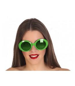 gafas verdes
