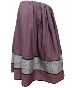 Skirt Two-Tone Purple