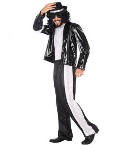 Disfraz de Rey del Pop Jacson