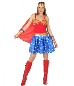 Disfraz de Super Heroina Wonder