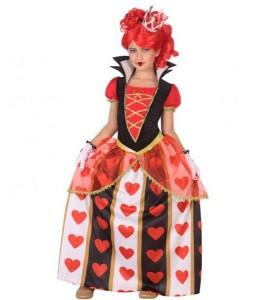 Costume Reine de coeur d'Enfant