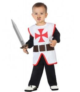 Disfraz de Caballero Cruzadas Bebe