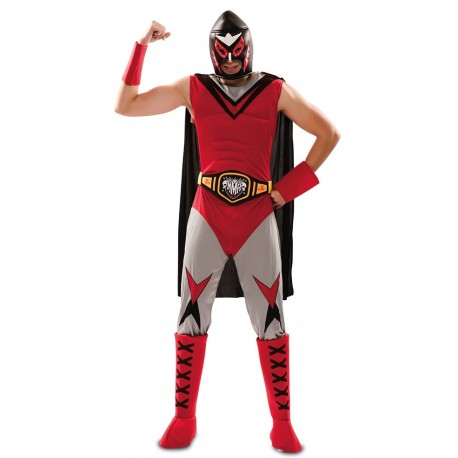 Disfraz de Campeon de Lucha Libre