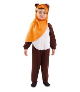 Costume D'Ours À Capuchon Pour Bébé