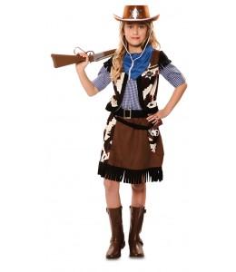 Kostüm Kinder-Cowgirl