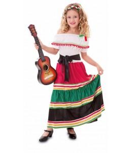 Kostüm Mexikanerin Kinder -