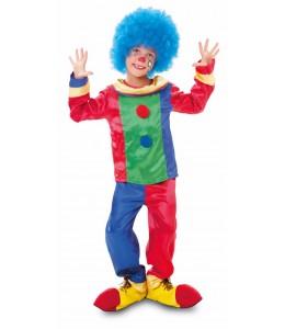 Disfraz de Payaso Colores Infantil