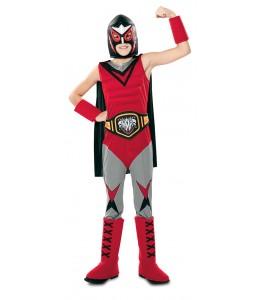 Kostüm - Champion der Wrestling-Kinder