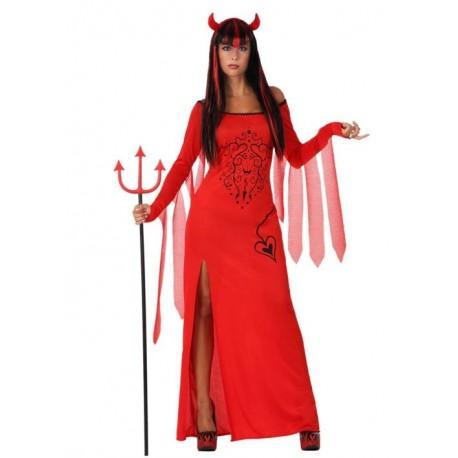 Disfraz de Diablesa Largo