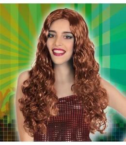 Hair Long Wavy Chestnut