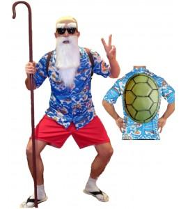 Disfraz de Maestro Tortuga Hawai