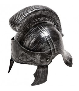 Casco Centurion Romano Plata