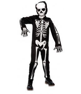 Skelett-kostüm kinder
