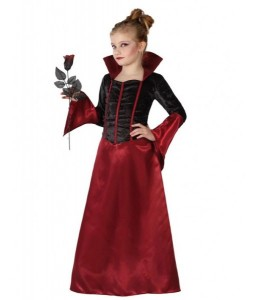 Costume Vamp Bordeaux Child