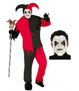 Disfraz de Lord Joker con mascara