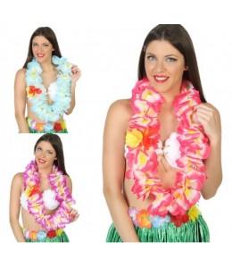 Collar hawaiano deluxe surtidos