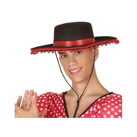 Comprar Sombrero Cordobes Con Borlas por solo 3.50€ – Tienda de ... 62555c5986f