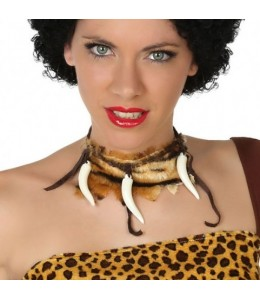 Collar cavernicola colmillos