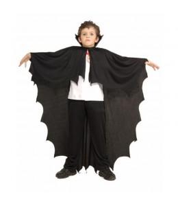 Capa vampiro picos infantil