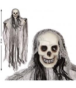 Colgante Esqueleto Blanco 91x66