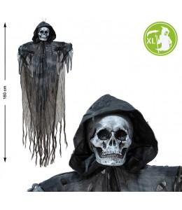 Colgante Esqueleto  Negro 160x118