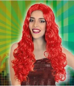Perücke Haar Gewellt Rot
