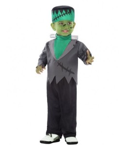 Disfraz de Monstruo verde bebe