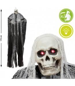 Colgante esqueleto con luz