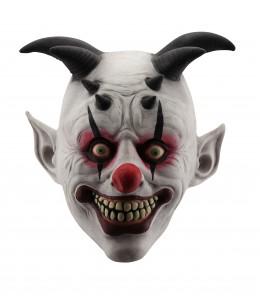 Mascara Payaso con Cuernos