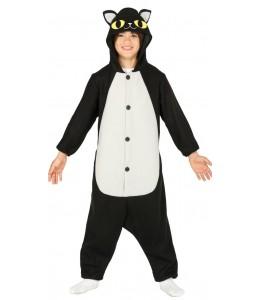 Disfraz de Gato Negro Pijama