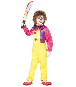 Costume Clown Killer Bambino