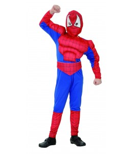 Disfraz de Spider Musculoso Infantil