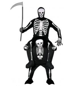 Disfraz de Esqueleto a Hombros de Esqueleto
