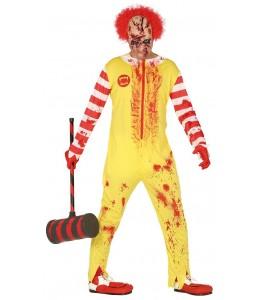 Disfraz de Payaso Burger Asesino