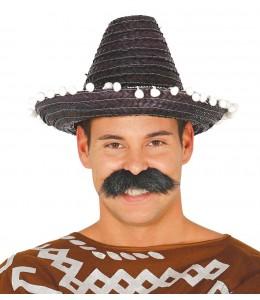Sombrero Mejicano 33cm Negro