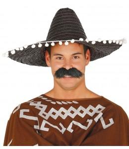 Sombrero Mejicano de 50cm Negro