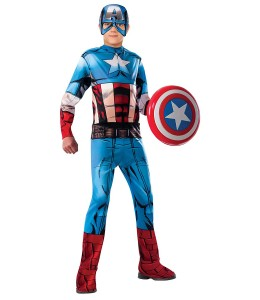 Costume de Captain America bande Dessinée