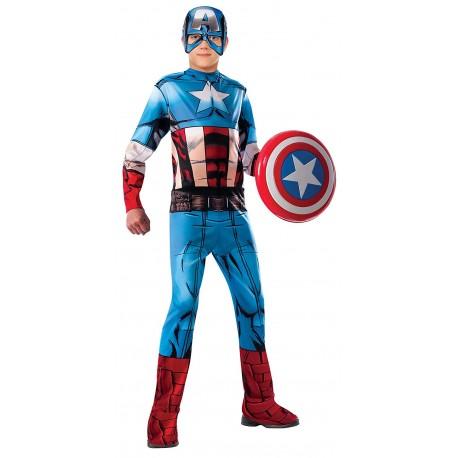 Disfraz de Capitan America Comic