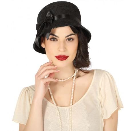 Comprar Sombrero Mujer Años 20 por solo 4.50€ – Tienda de disfraces ... 4ddc32c4c1f