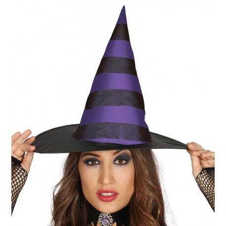 Sombrero de Bruja Rayas