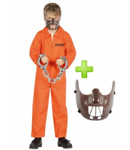 Costume Psicopata Canibal child