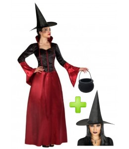 Disfraz de Bruja Elegante
