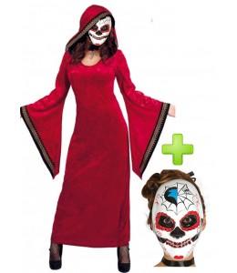 Disfraz de Catrina hechicera