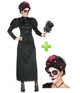 Kostüm Witwe Catrina