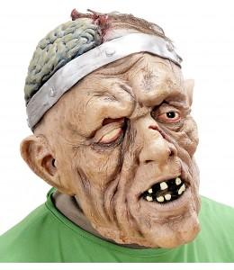 Mascara Zombie Cerebro con Pelo