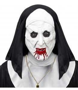 Mascara de Monja del Horror