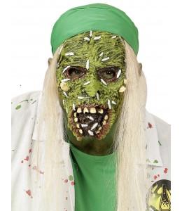 Mascara de ZOmbie Toxico con Pelo