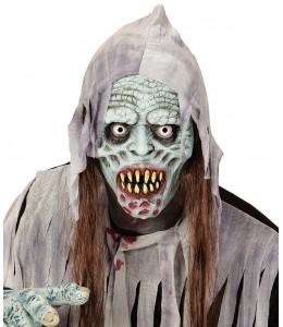 Mascara Zombie Infectado con Pelo